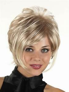 Short Hairstyles For Full Faces Hair Style And Color For