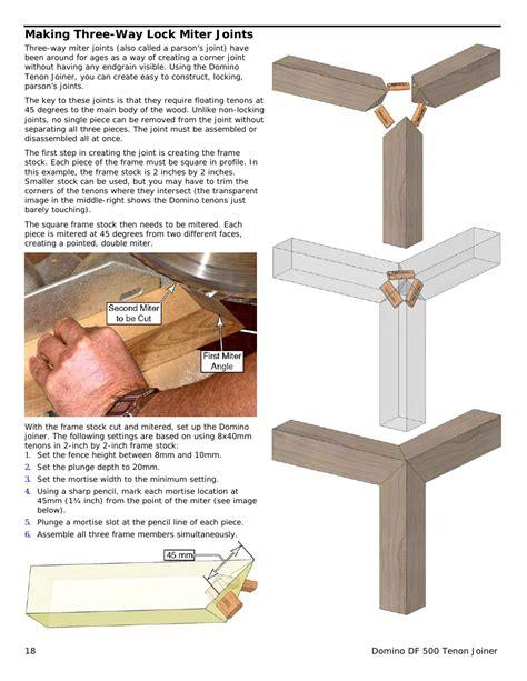 festool domino df  manual page  woodwork