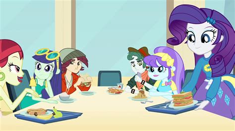 my little pony table image rarity sitting down at fashion table eg png my