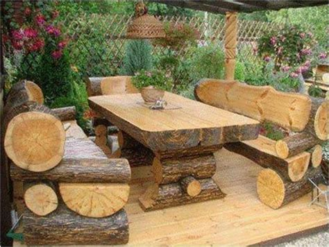 perfect  easy diy rustic patio furniture plans