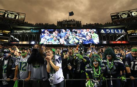 seahawks ers guinness world record fans  man