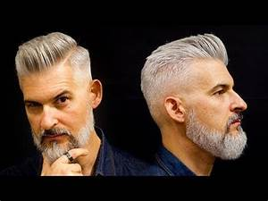 Modern Gentleman's haircut and beard | Men's haircut for ...