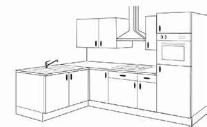 implantation cuisine en u aménager sa cuisine conseils en aménagement intérieur de