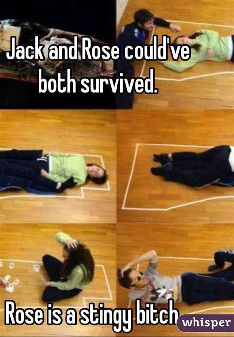 Titanic Door Meme - rose confesses that jack could have survived yahoo7