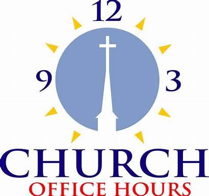 Hours Clipart Office Church Secretary Parish Cliparts