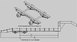 Axle Placement For A Gooseneck Axle Trailer  U2013 Trailerplans