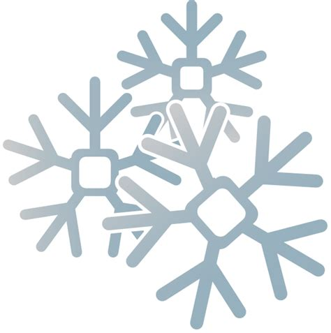 neve clipart snowflakes clip at clker vector clip