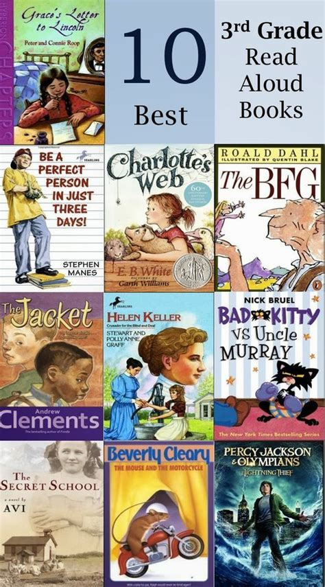 Inspiration For Education 10 Best Read Alouds For 3rd Grade  Thirdgradetroopcom Pinterest