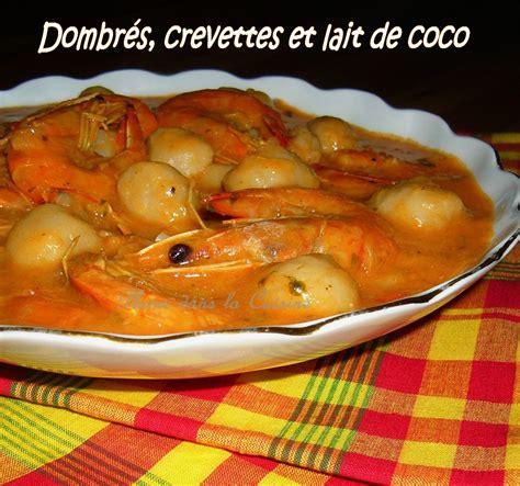 en cuisine avec coco dombrés aux crevettes et au lait de coco une plume dans