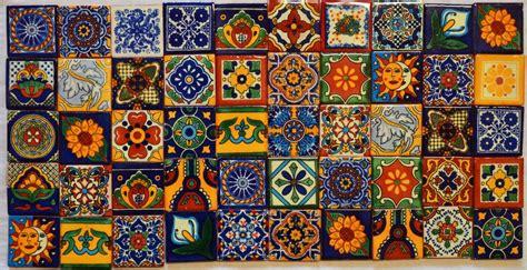 Decorative Crosses For Sale by 50 Mexican Talavera Tiles 2x2 Clay Handmade Folk Art