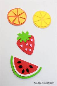 hello, Wonderful - 12 FUN AND COLORFUL FRUIT CRAFTS