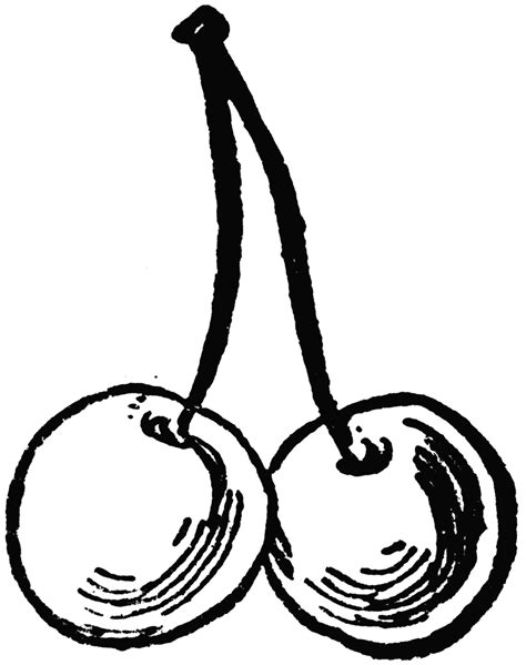 Free Cherry Cliparts Black, Download Free Clip Art, Free