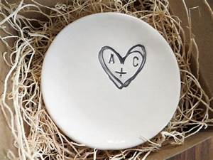 wedding ring dish ring holder engagement gift you plus me With wedding ring dish