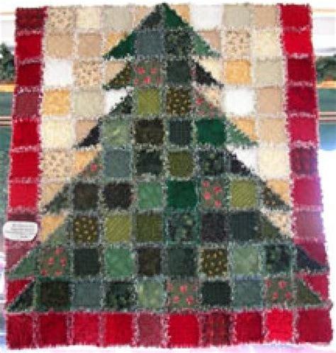o christmas tree rag tree quilt kit