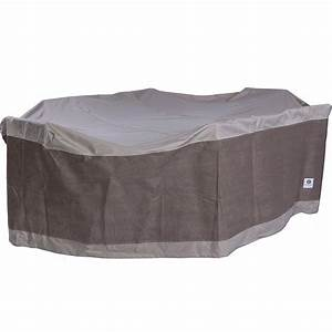 Duck covers elegant square fire pit cover 40quot l x 40quot w x for Patio furniture covers amazon ca