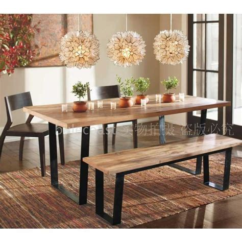 Coffee Shop Cafe Restaurant Solid Wood Dining Tables And