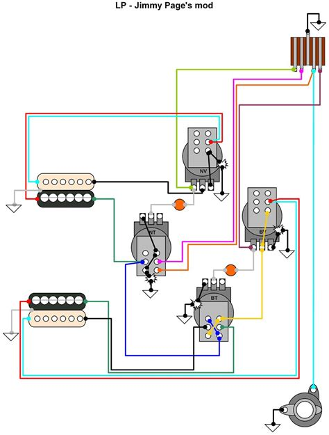 funky gibson les paul standard wiring diagram illustration