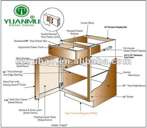 kitchen cabinet construction details solid wood kitchen furniture china mainland kitchen cabinets 5198