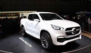 Pick Up Mercedes Amg : mercedes x class concept pick up de luxe vid o en direct du salon de gen ve 2017 ~ Melissatoandfro.com Idées de Décoration