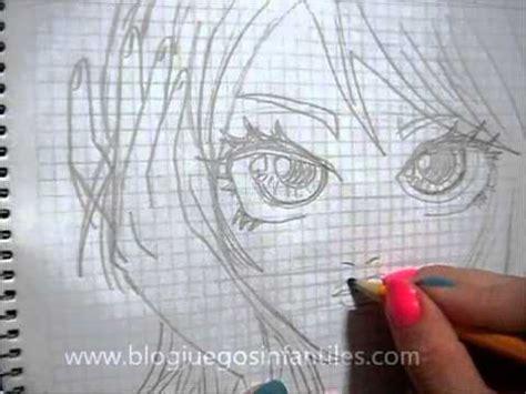 dibujar chica linda anime youtube