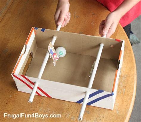 shoebox foosball game