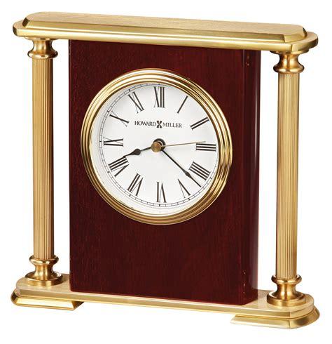 howard miller desk clock howard miller desk clock 645 104 rosewood encore bracket