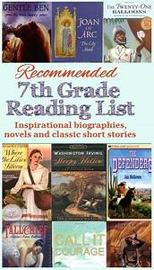 Recommended Reading List for 7th Grade #homeschool ...