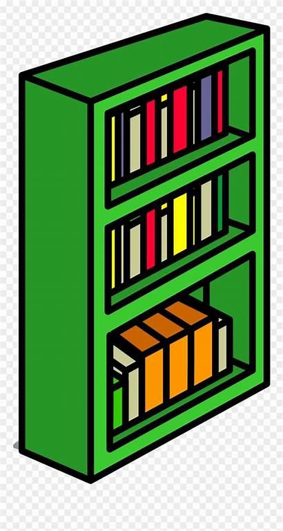 Bookcase Clipart Clip Bookshelf Sprite Transparent Clipground