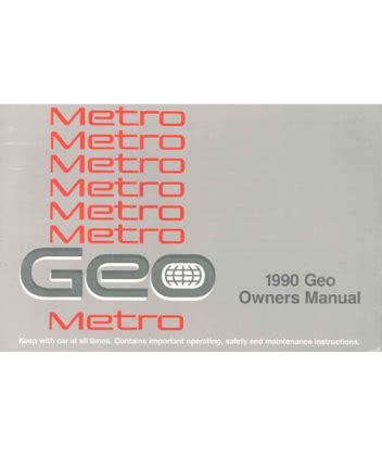 free car repair manuals 1996 geo metro user handbook 1990 geo metro owners manual