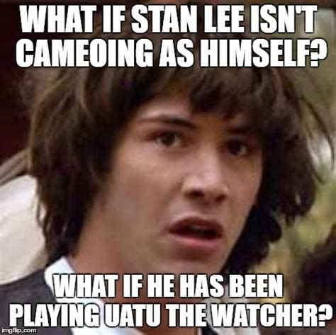 Stan Meme - what if stan lee s appearance hasn t just been a cameo imgflip