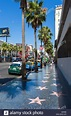Stars on the Hollywood Walk of Fame, Hollywood Boulevard ...
