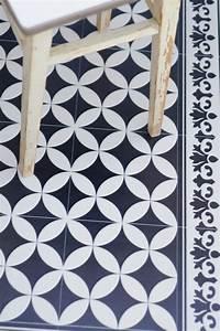 Tapis Façon Carreaux De Ciment : coup de c ur pour les tapis vinyl imitation carreaux de ~ Preciouscoupons.com Idées de Décoration