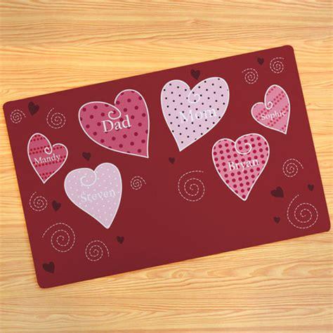 design your own doormat create your own hearts door mat