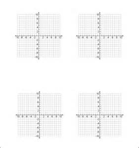 Printable Graph Paper for Math Homework