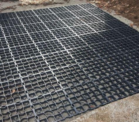 rubber matting for driveways 16x plastic gravel grass paving driveway grid drainage mat