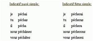 Peindre Au Passé Simple : conjugaison du verbe pecher ~ Melissatoandfro.com Idées de Décoration