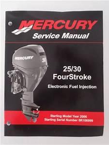 Buy Used Mercury Outboards 25  30 Fourstroke Efi Factory