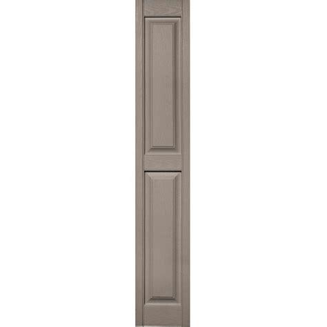 builders edge 12 in x 71 in raised panel vinyl exterior