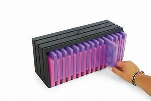 Cd Box Aufbewahrung : exponent b ro organisation cd box library kaufen otto ~ Whattoseeinmadrid.com Haus und Dekorationen