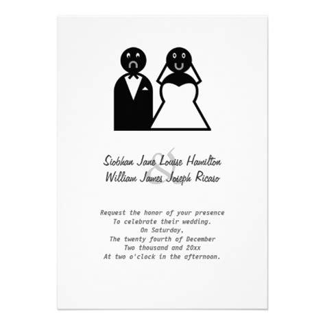 funny  crazy wedding invitations images