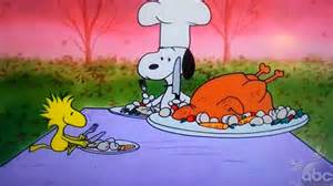 brown 39 s thanksgiving excerpt of snoopy and woodstock