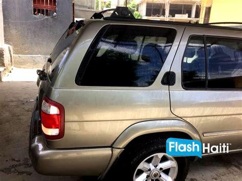 voiture à vendre 2003 nissan pathfinder voiture d occasion a vendre en haiti