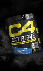 Cellucor C4 Extreme Pre Workout Powder For Explosive Energy