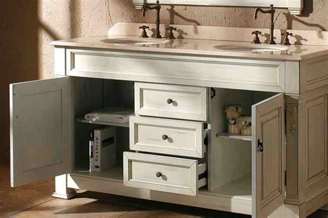 Bathroom Double Vanity Cabinets