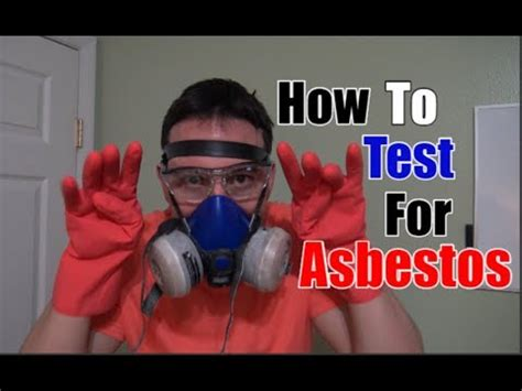 test  asbestos youtube