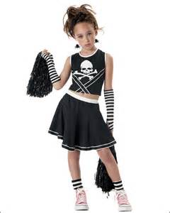 Scary Cheerleader Costume Girls