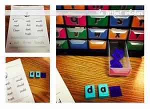 diy digraph tiles littlest scholars With letter tile organizer
