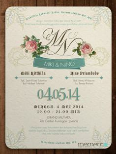 undangan pernikahan word kata kata mutiara