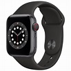 du™ Shop | Personal | Apple Watch Series 6 GPS | 40mm | Space Gray Aluminium Case with Black Sport Band