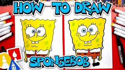 Draw Spongebob Squarepants Hub Drawing Cartoon Doodle